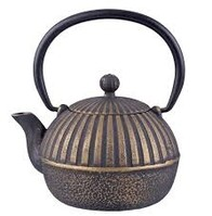 Black/Gold Imperial Stripe Teapot 500ml