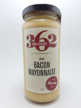Spicy Bacon Mayonnaise 220g