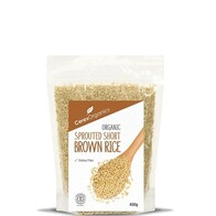 Sprouted Short Brown Rice 400g
