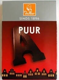 Dark Chocolate Letter 65g