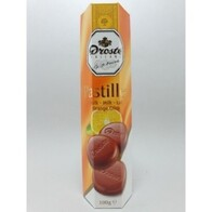 Chocolate Pastilles Orange 100g