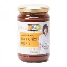 Julie Le Clerc Rich Onion Relish 275mls