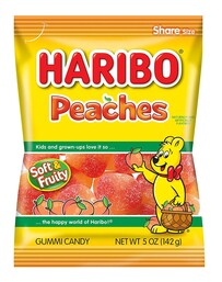 Haribo Peaches 250g