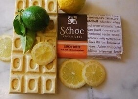 Lemon and White Chocolate Tablet 75g