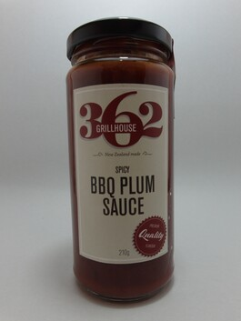 Spicy BBQ Plum Sauce 250ml