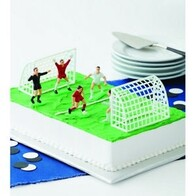 Football Cake Topper Set 7pc