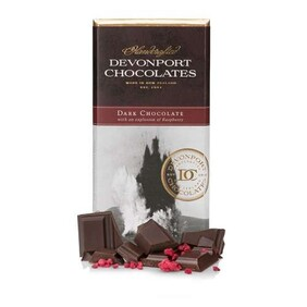 Raspberry Dark Chocolate Tablet 80g