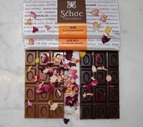 Rose and Rich Dark Chocolate Tablet 75g