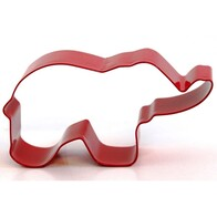 Cookie Cutter Elephant Red 9cm