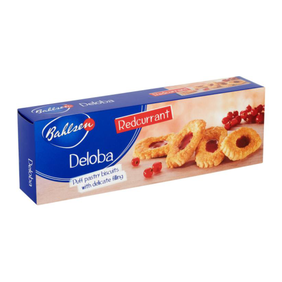 Redcurrent Puff Pastry Biscuits 100g