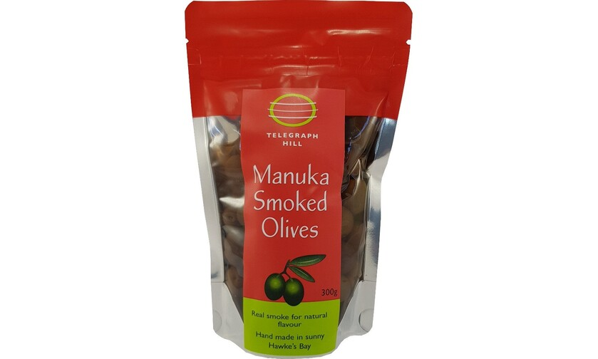 Dantes Fine Foods | Manuka Smoked Olives 300g, Vegetables