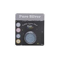 Edible Lustre Dust Pure Silver 7ml
