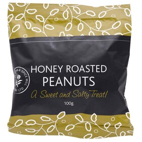 Honey Roasted Peanuts 100g