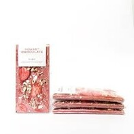 Strawberry & Hazelnut Ruby Chocolate Bar 90g