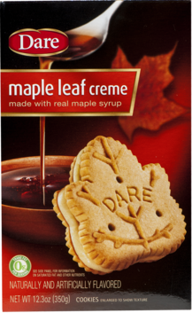 Maple Leaf Creme Filled Cookies 300g