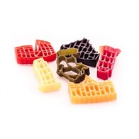 6 Colour Pasta Monuments 250g