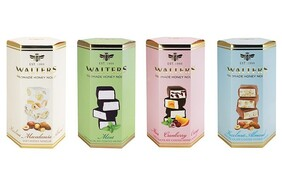 Walters Assorted Mint Cranberry Orange Dark Chocolate Nougat Gift Box