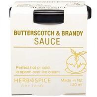 Butterscotch & Brandy Sauce 120ml