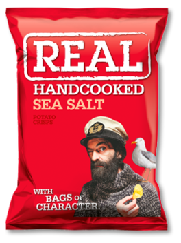 Real Crisps Sea Salt 150g