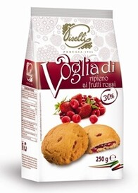 Red Fruits Filling Cookie 250g