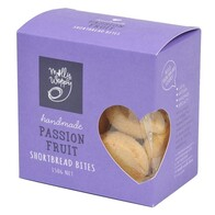 Passion Fruit Shortbread Bites 150g