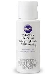 White Icing Colour 59ml