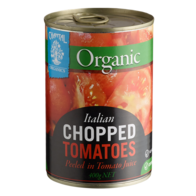 Organic Tomatoes Chopped 400g