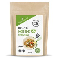 Organic Fritter Mix Herbalicious 280g