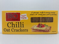 Chilli Oat Crackers 150g