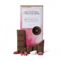The Art Of Indulgence Milk Chocolate Strawberry & Meringue 80g