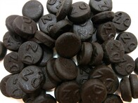 Liquorice Double Salted Rounds 200g Bag