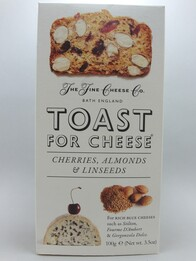 Cherries, Almonds and Linseed Toast for Cheese 100g