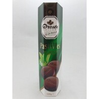 Chocolate Pastilles Dark Mint Crisps 100g