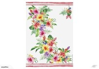 Paradise Floral Kitchen Towel