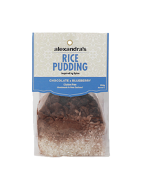 Chocolate & Blueberry Rice Pudding 230g