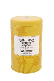 House Lemon Shortbread Tin 140g