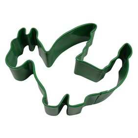 Dragon Cookie Cutter 9cm Green