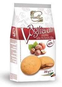 Hazelnut Cream Cookie 200g