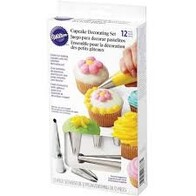 Cup Cake Decorating Set 12pc