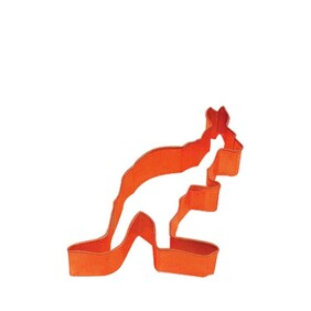 Cookie Cutter Kangaroo 8cm Orange