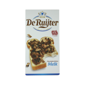 De Ruyter Chocolate Flakes Milk 300g