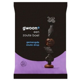 G'woon Salty Mixed Liquorice 400g