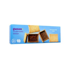 G'woon Milk Chocolate Coated Biscuits 150g