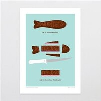 Chocolate Fish Card