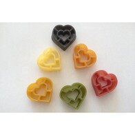 6 Colour Hearts 250g