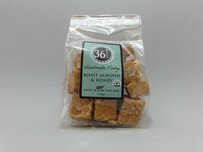 Handmade Roast Almond and Honey Fudge 120g