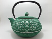 Cast Iron Teapot 1 Litre Seven Jewels Teal
