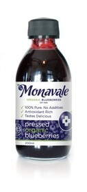 Pure Organic Blueberry Juice 200ml