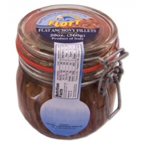 Anchovy Fillets in Fliptop Jar 235g