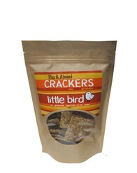 Flax & Almond Crackers 100g